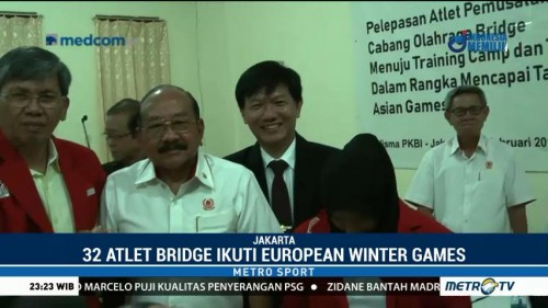Persiapan Asian Games, Atlet Bridge Indonesia Uji Coba ke Eropa