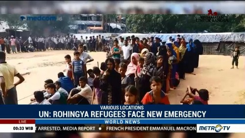 UN: Rohingya Refugees Face New Emergency