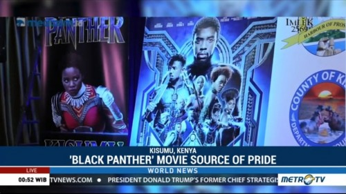 'Black Panther' Movie Source of Pride for Kenya