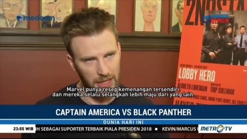 Chris Evans Komentari Film Black Panther