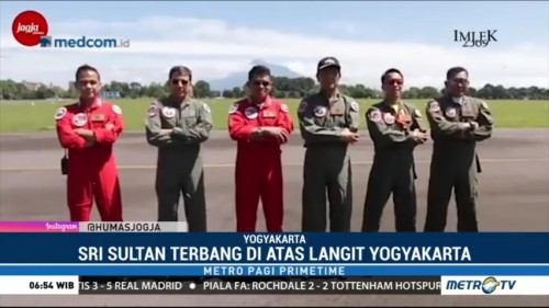 Aksi Joy Flight Sultan Hamengkubuwono X