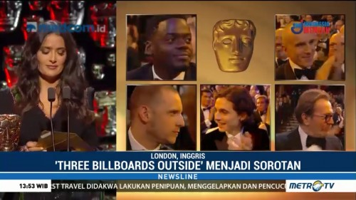 Three Billboard Outside Borong Lima Piala di BAFTA