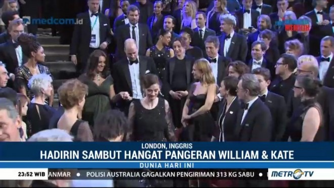 Pangeran William dan Kate Middleton Hadiri BAFTA 2018