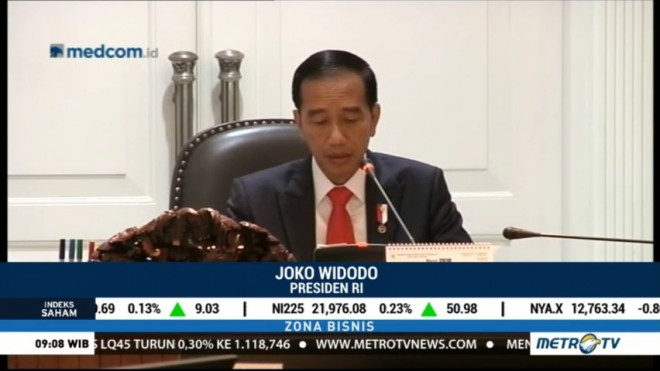 Jokowi Minta Tax Allowance dan Tax Holiday Dievaluasi