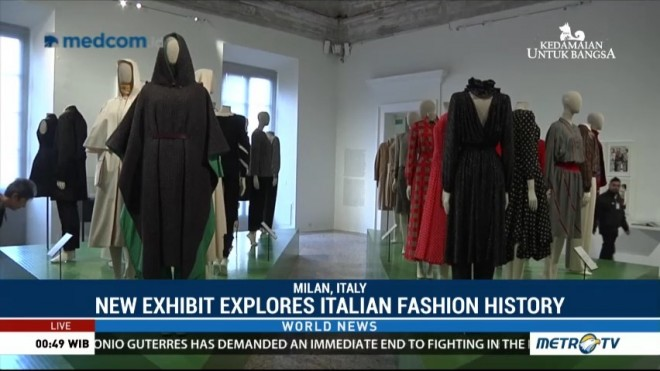 New Exhibit Explores Italian Fashion History