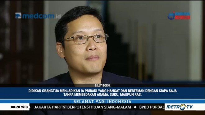Billy Boen Pendiri Young on Top yang Menginspirasi