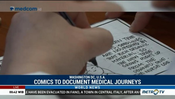 Patients and Caregivers Use Comics to Document Medical Journeys