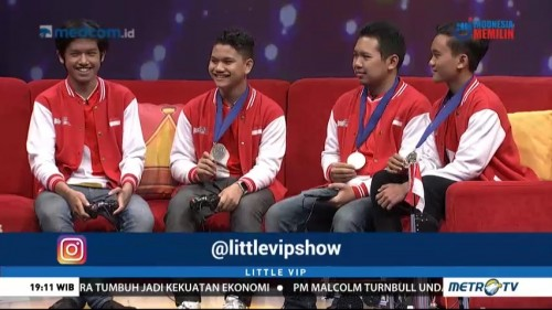 Tim Never Before Juara Dua Kontes Robot Internasional