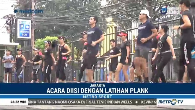 Metro TV Gelar Road To Heritage Run