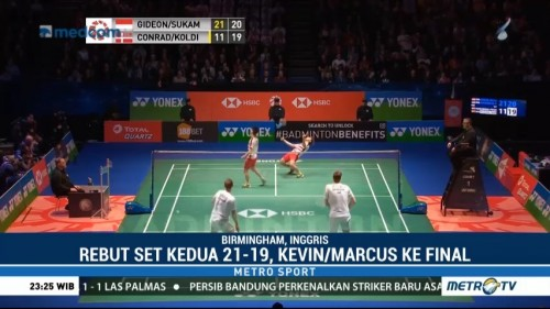 Kevin/Marcus Melaju ke Final All England 2018