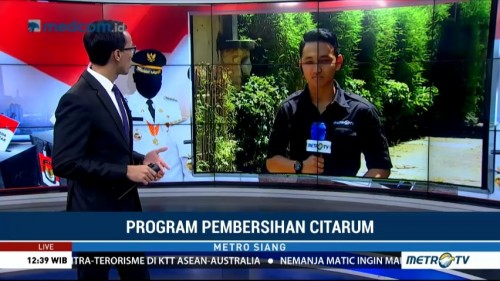 Adu Program Empat Cagub Jabar Revitalisasi Sungai Citarum