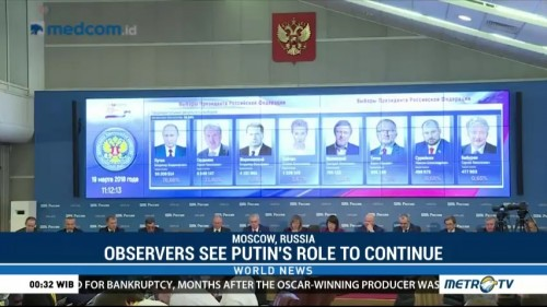 Observers See Putin's Rule of Russia to Continue