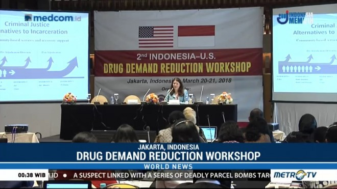 The 2nd Drug Demand Reduction Workshop Held in Jakarta