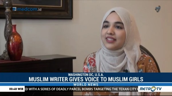 Young Muslim Writer Uses Her Imagination to Give Voice to Muslim Girls