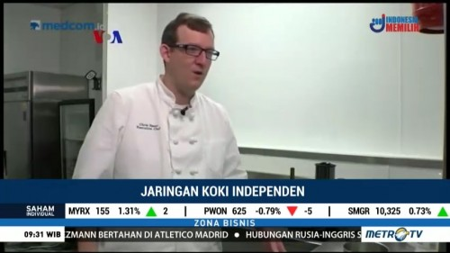 Chef Without Restaurants, Jaringan Koki Independen