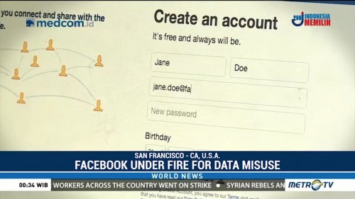 Facebook Under Fire for Data Misuse