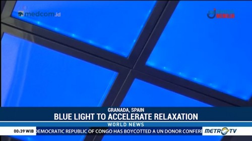 Blue Light to Accelerate Relaxation