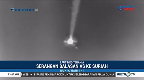 AS Rilis Video Serangan Misil ke Suriah