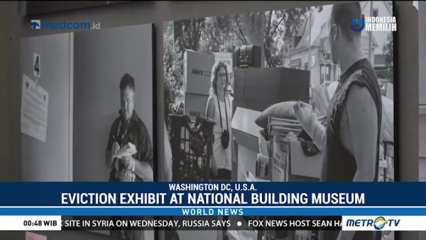 Eviction Exhibit Finds a Home at National Building Museum