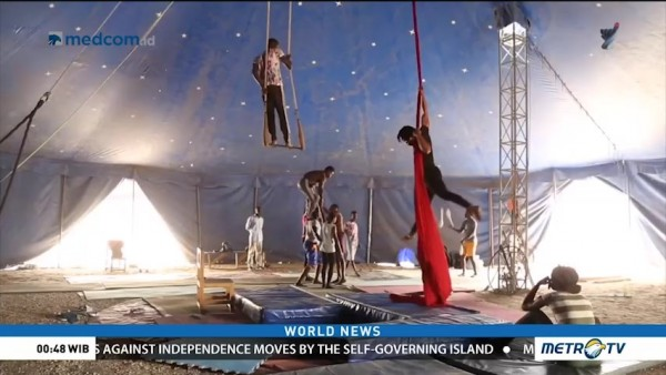 Senegal Acrobats Defy Cultural Norms to Pursue Circus Passions