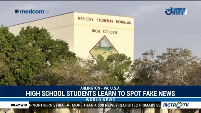 High School Students Learn What is Real or Fake News