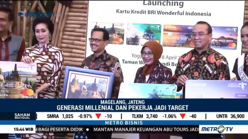 BRI Luncurkan Kartu Kredit Wonderful Indonesia
