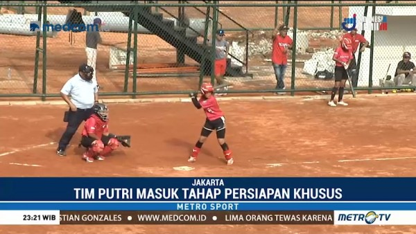 Persiapan Atlet Softball Jelang Asian Games 2018