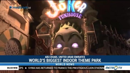 World's Biggest Indoor Theme Park Opens in Dubai