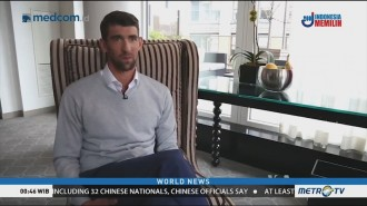Michael Phelps Promotes Water Conservation for Earth Day