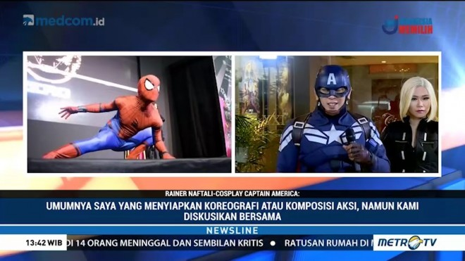 Bergaya Ala Super Hero 'The Avengers' (2)