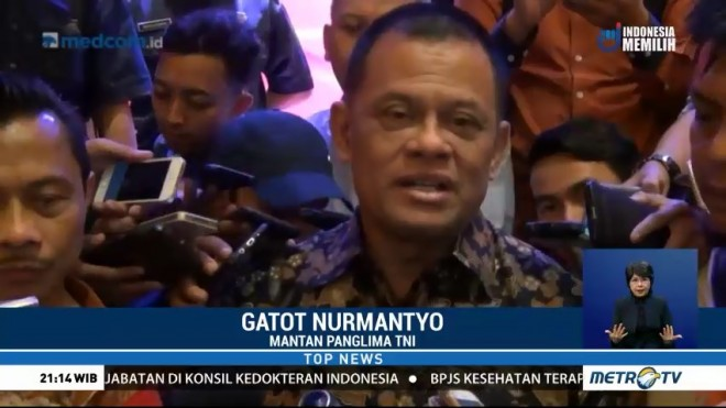 Gatot Nurmantyo Optimistis Maju Capres 2019