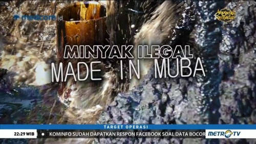 Minyak Ilegal <i> Made in </i> Muba (1)