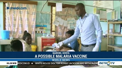 A Possible Malaria Vaccine