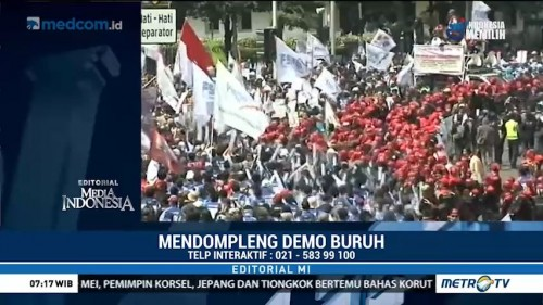Mendompleng Demo Buruh