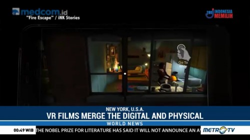 At Film Festival, Virtual Reality Films Merge the Digital and Physical