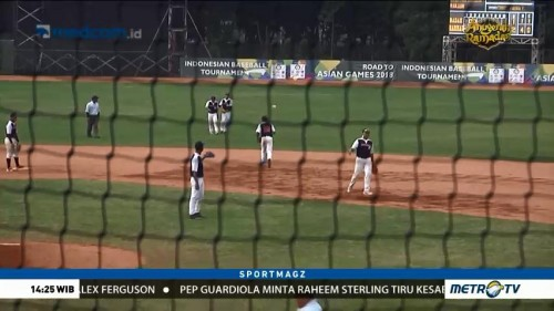 PB Perbasasi Gelar Test Event Asian Games Cabor Baseball