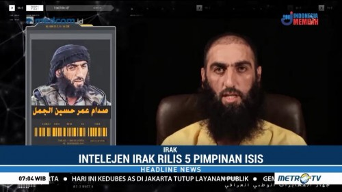 Intelijen Irak Rilis Video Lima Pimpinan ISIS