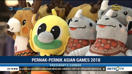 Pernak-pernik Asian Games 2018