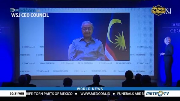 Mahathir Says He Will Remain Leader for 1-2 Years