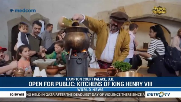 Open for Public: Kitchens of King Henry VIII