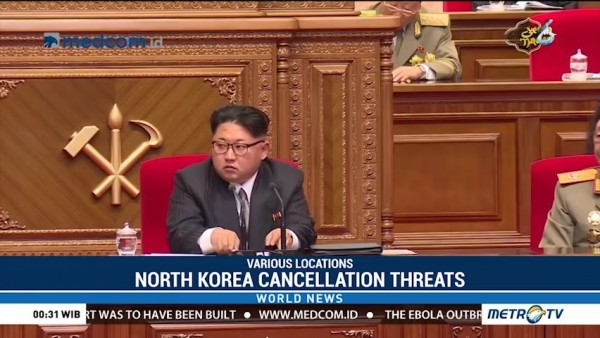 North Korea Cancellation Threats