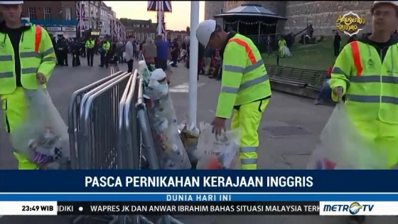 Suasana Kota Windsor Berangsur Normal