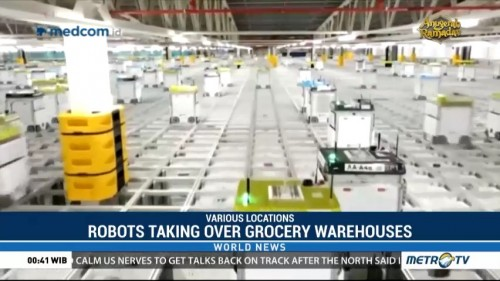 Robots Taking Over Grocery Warehouses