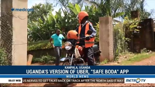 Uganda Seeks Safer Motorcycle Taxis