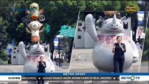 Mengenal Maskot Asian Games 2018