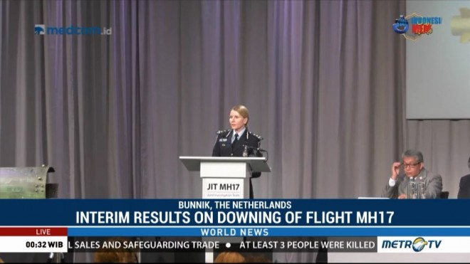 Interim Results on Downing of Flight MH17