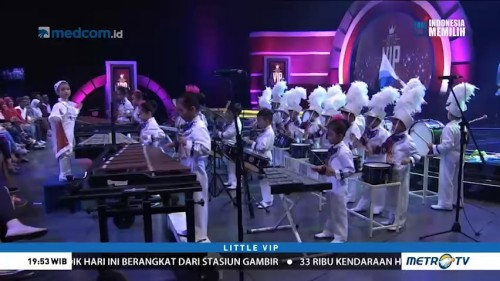 Marching Band TK Annisaa Unjuk Kebolehan di Little VIP