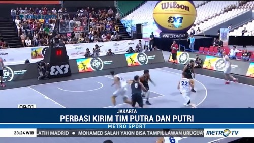 Tim Basket 3x3 Indonesia ke Piala Dunia