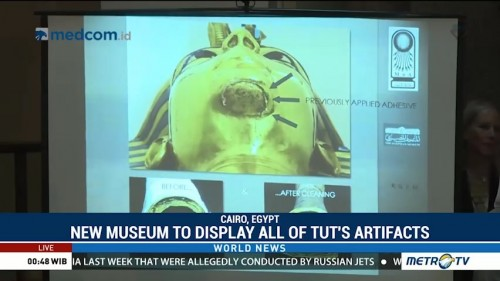 New Museum to Display All of Tutankhamun's Artifacts