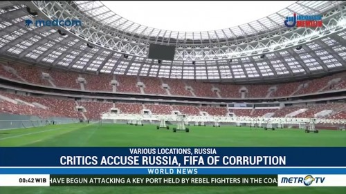 As Russia Readies for World Cup Kick-Off, Critics Accuse Moscow and FIFA of Foul Play